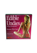 Sexy Edible Panty Female Pink Champagne